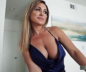 Hot Mom Aubrey Black Fucks Husband While Role Playing His Step Daughter 10 min HD+