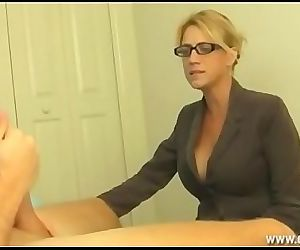 Milf Gets Furious To Catch Young Guy Jacking 6 min
