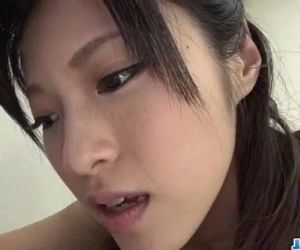 Sara Yurikawa amateur girl goes nasty on a fat dong - 12 min