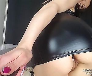 Super hot babe Angie selfie stick video of close-up pussy and big ass 1 min 14 sec HD+