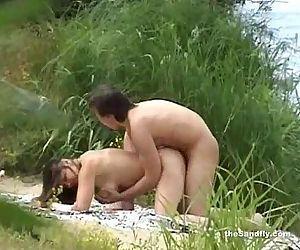 theSandfly Coolest Beach Daring Sex Fun! - 8 min