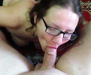 blowjob and cum on big tits mature mothers