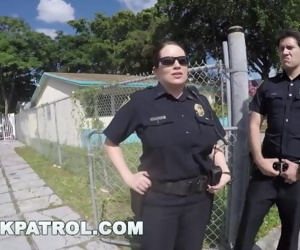 BLACK PATROL - Police Officers Maggie Green and Joslyn Kicking Ass