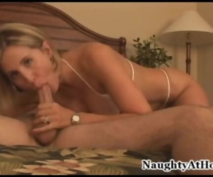 MILF having real orgasms & hot sex with bed slamming against the wall