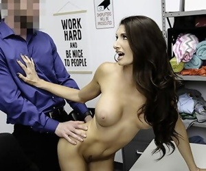 Klepto Milf Caught And Punished With A Facial