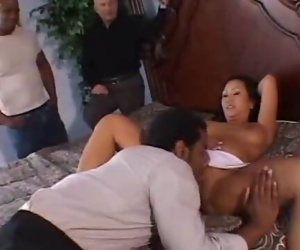 Interracial Swinging With Asian MILF and BBC Man To arouse