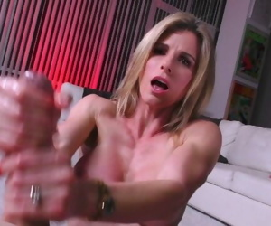 HOT MILF Cory CHEATS ON HUSBAND with HIS SON, but is a HAND JOB CHEATING!
