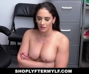 ShopLyfter Milf Fucked By Security While Husband Watches