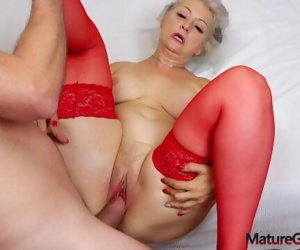 Hot grandma hardcore banging