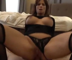 American Mature MILF Gets Hard Anal Fucked by Stranger