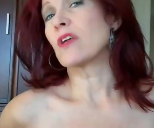 Shameless Mature Redhead Stepmom Gets Nice Creampie from her Stepson