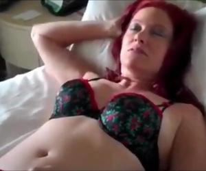 Sexy Mature Redhead MOM Likes Hot Fuck