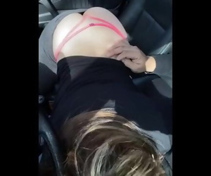 Public Blowjob in Car Amateur Danish MILF from Piger.eu