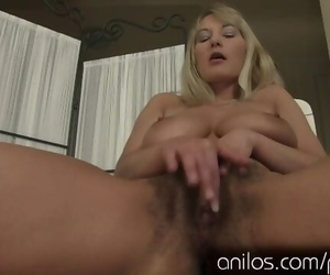 Vanessa Sweets has some Huge Tits and a Hairy Snatch HD