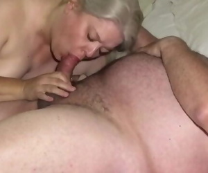 Another handjob/blowjob/CIM from the Wife