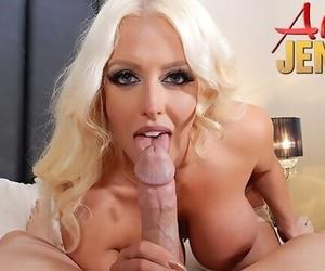 Busty Blonde Pornstar Alura Jenson Gets Fucked in POV