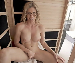 Naked Sauna Fun with my Friends Hot Stepmom Cory Chase