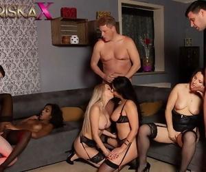 MARISKAX Orgy with Mariska and her Friends - Part 3