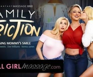 AllGirlMassage Lesbian Step-Daughters Massage MILF Mommy!