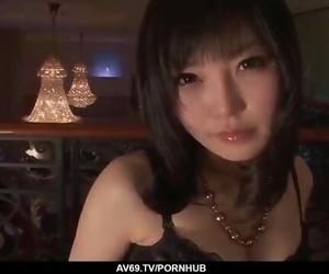 Japanese Lingerie Porn and Soft Oral by Hikaru Kirameki - more at 69avs com