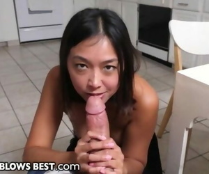 MommyBlowsBest - Meeting my new Asian Step-Mom