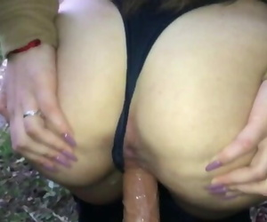 PLAYING WITH MY PUSSY OUTSIDE 18Y.0-SweetCoouple
