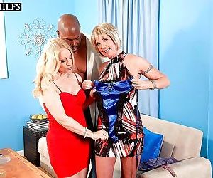 Blonde mature with fine tits robin pachino severe sex with..