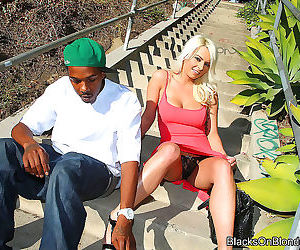 A big cocked black man pounded kali kavallis pussy - part..