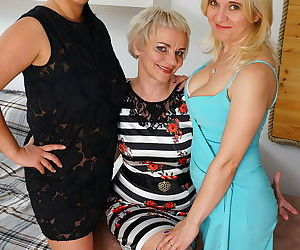 Three naughty housewives make it big - part 3074