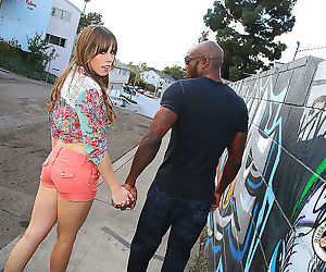 Black cock lover amber chase got assfucked balls deep -..