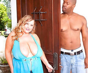 Chubby mom sienna hills loves to fuck a black cock - part..