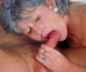 Dirty old grandma fucking like a pro - part 2088