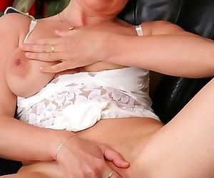 Mom fucking her like the dog that she is - part 1482