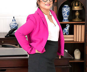 57-year-old maya luna calls rion into her office and gives..