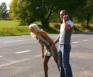 Mature mmf sex in a taxi - part 1194