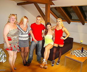 Mature sex party with slutty women - part 1066