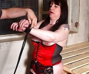 Mature slave in bondage action - part 2993