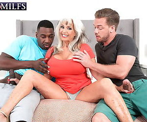 Two big cocks against two monster tits - part 2705