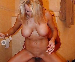 Raw and kinky mature toilet sex - part 2635