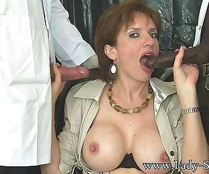 Milf orally fucked by two doctors - part 2537