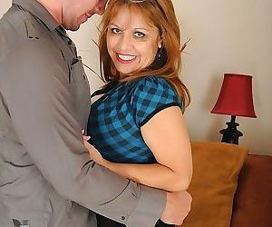 Busty mature latina marissa vazquez riding big cock. -..