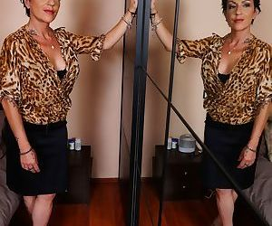 Mature woman lives out her old and young sex fantasies..