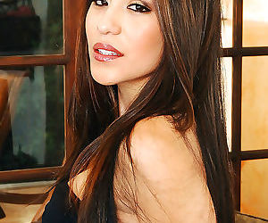 Jenaveve jolie is a beautiful latin housewife, accustomed..