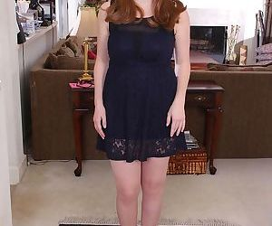 White lady Bebe Fuller likes allowing her chubby body get..