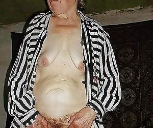 Amateur granny showing off at home - part 1730