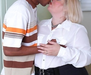 British housewife gets fucked by her black lover - part 423