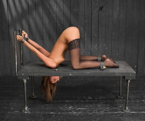 Dommes Mz Berlin & Asa Archer anally abuse tied up..