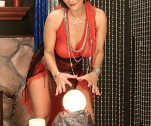 Mature fortune teller Cheyanne Rivers seduces a younger..