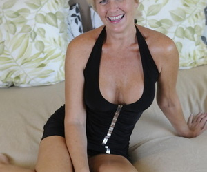 Mature lady Tracy Lick rides a BBC before being banged..