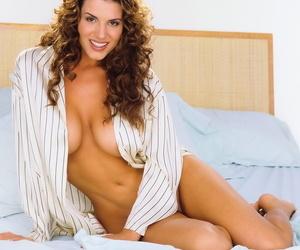 Breathtaking Playboy dolls show off their incredible boobs..
